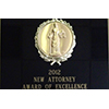 New Attorney Award of Excellence